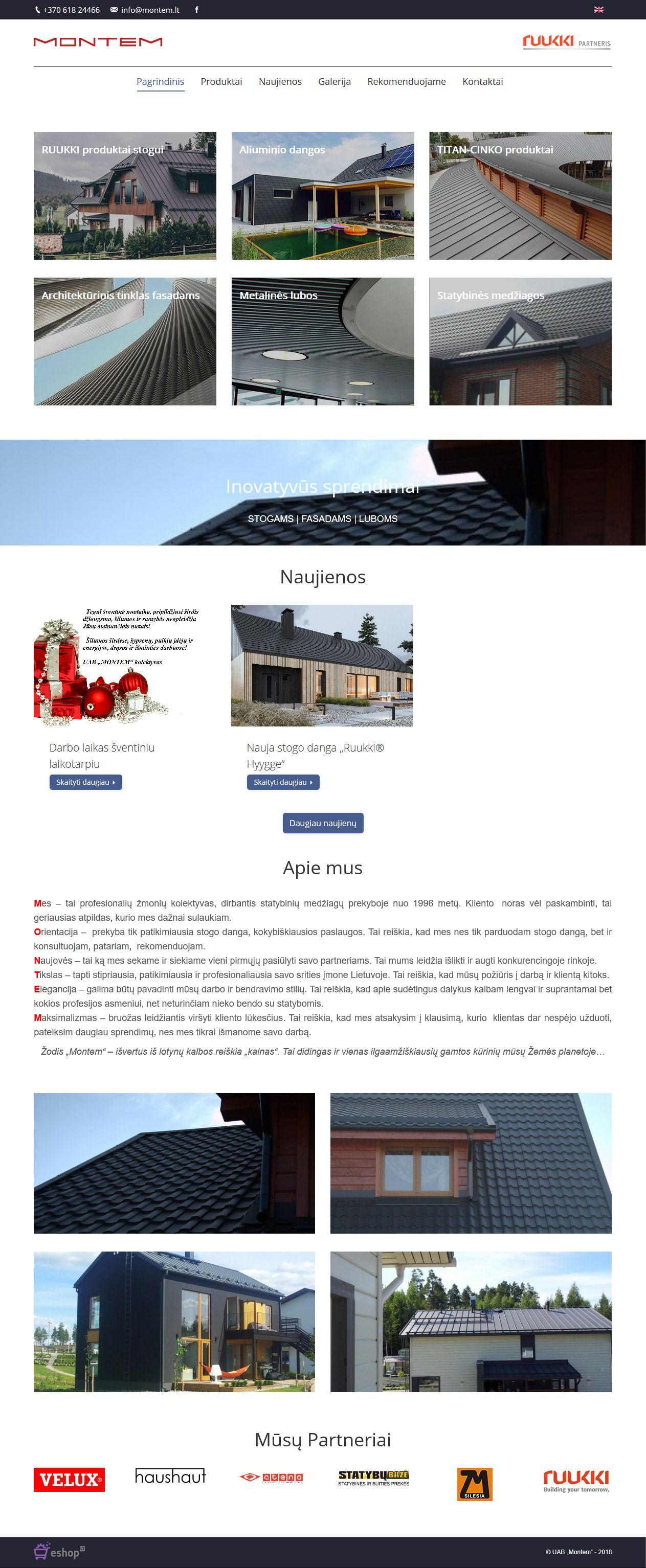 internetinio puslapio