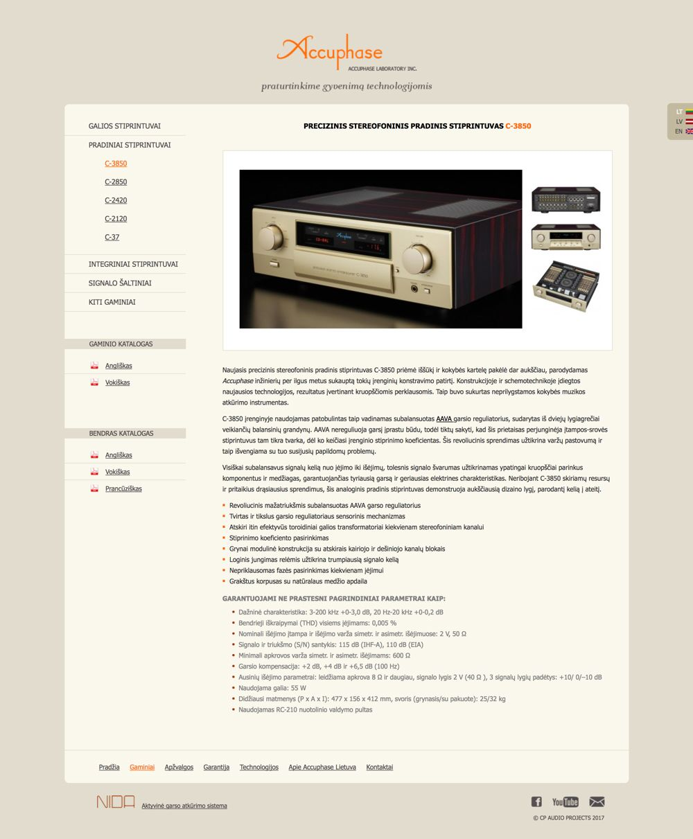 web projektai